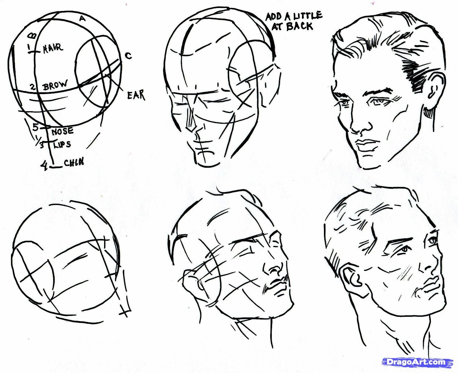 Drawing Scribble Face : How to draw faces bing images pinterest