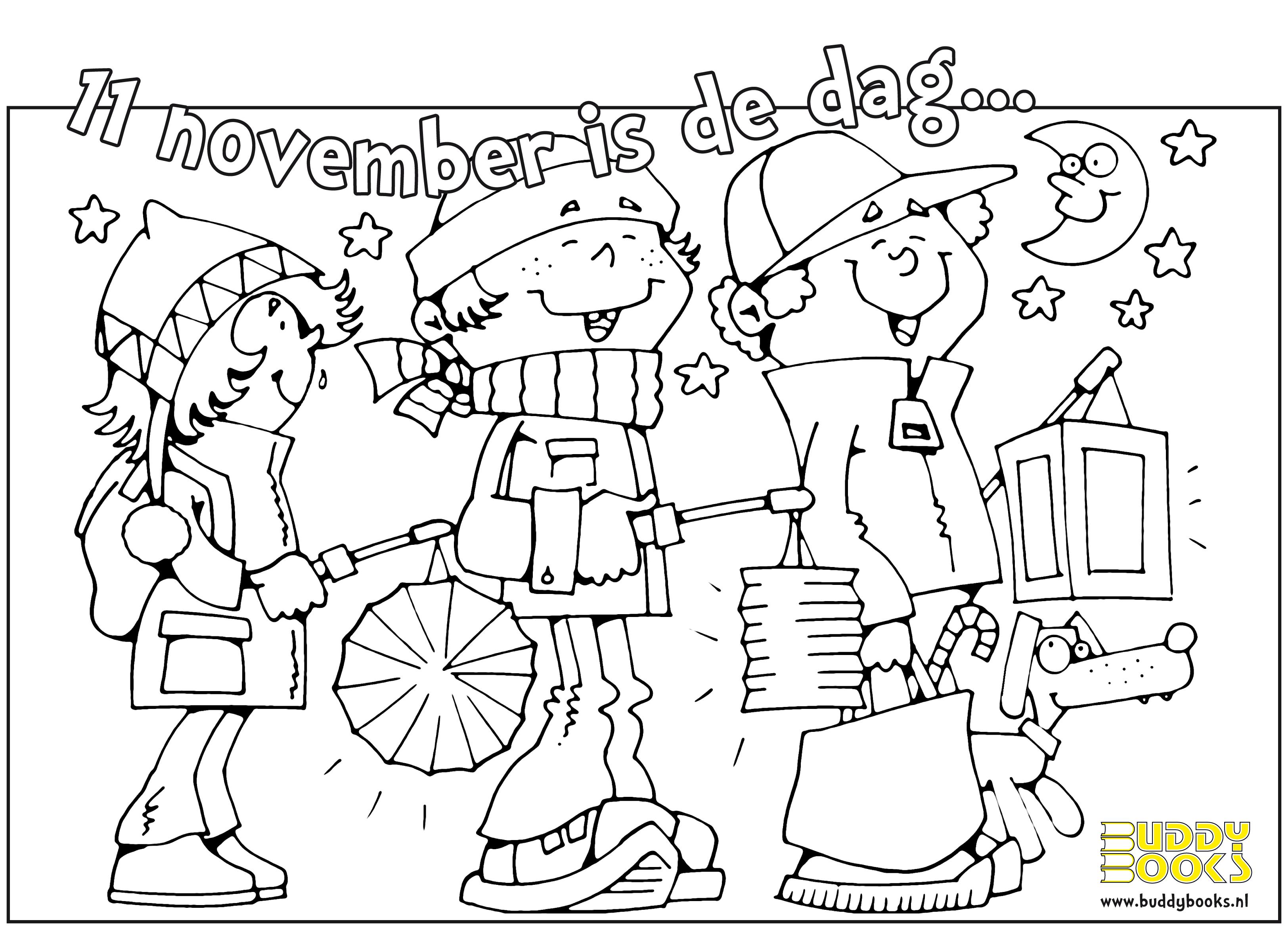 Sinterklaas Kleurplaten Club Van Sinterklaas Sint Maarten Kleurplaat Google Zoeken Lampionnen