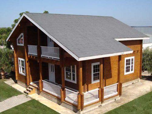 Casas carbonell venta de casas prefabricadas en - Casas de madera de dos plantas ...