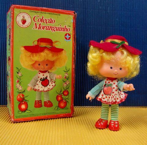 Strawberry Shortcake Doll Brasil version - Boneca Moranguinho, Fabricado por Estrela, Brasil - anos 80-90
