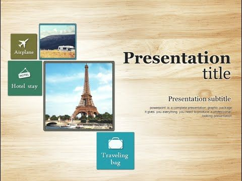 Travel Animated Powerpoint Template  Travels