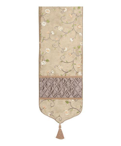 Take a look at this Caramel Gold Addison Table Runner on zulily today!