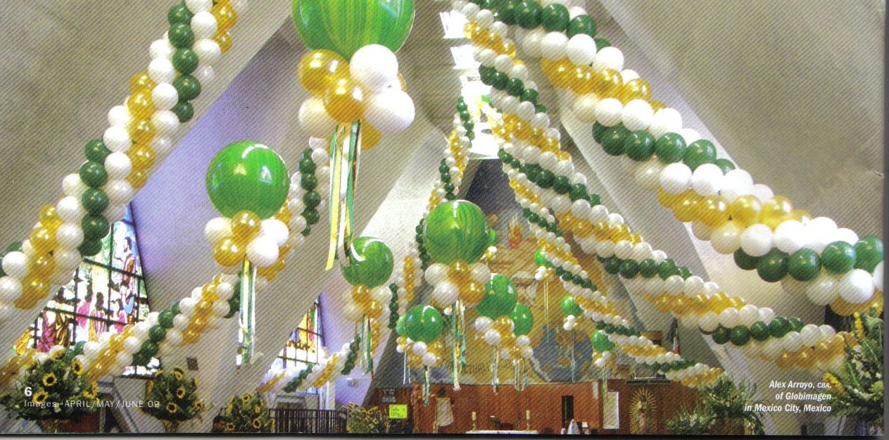 Balloon Ceiling Party Decorations | Balloon Celebrations Tops In