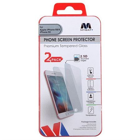Mybat Screen Protector FOR Apple Iphone 5/5S/SE - Tempered Glass
