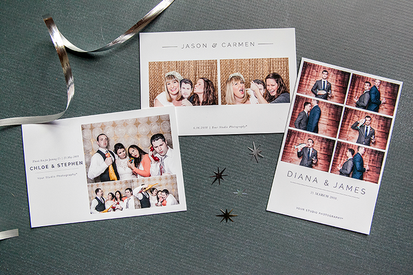 Photo Booth Templates Modern Minimalist Collection Photobooth