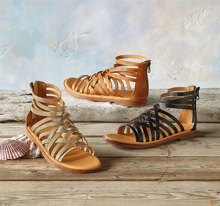7313183597a Palmyra Sandals - Kork-Ease ® adds its signature comfort and a refined  elegance to classic gladiator sandals.