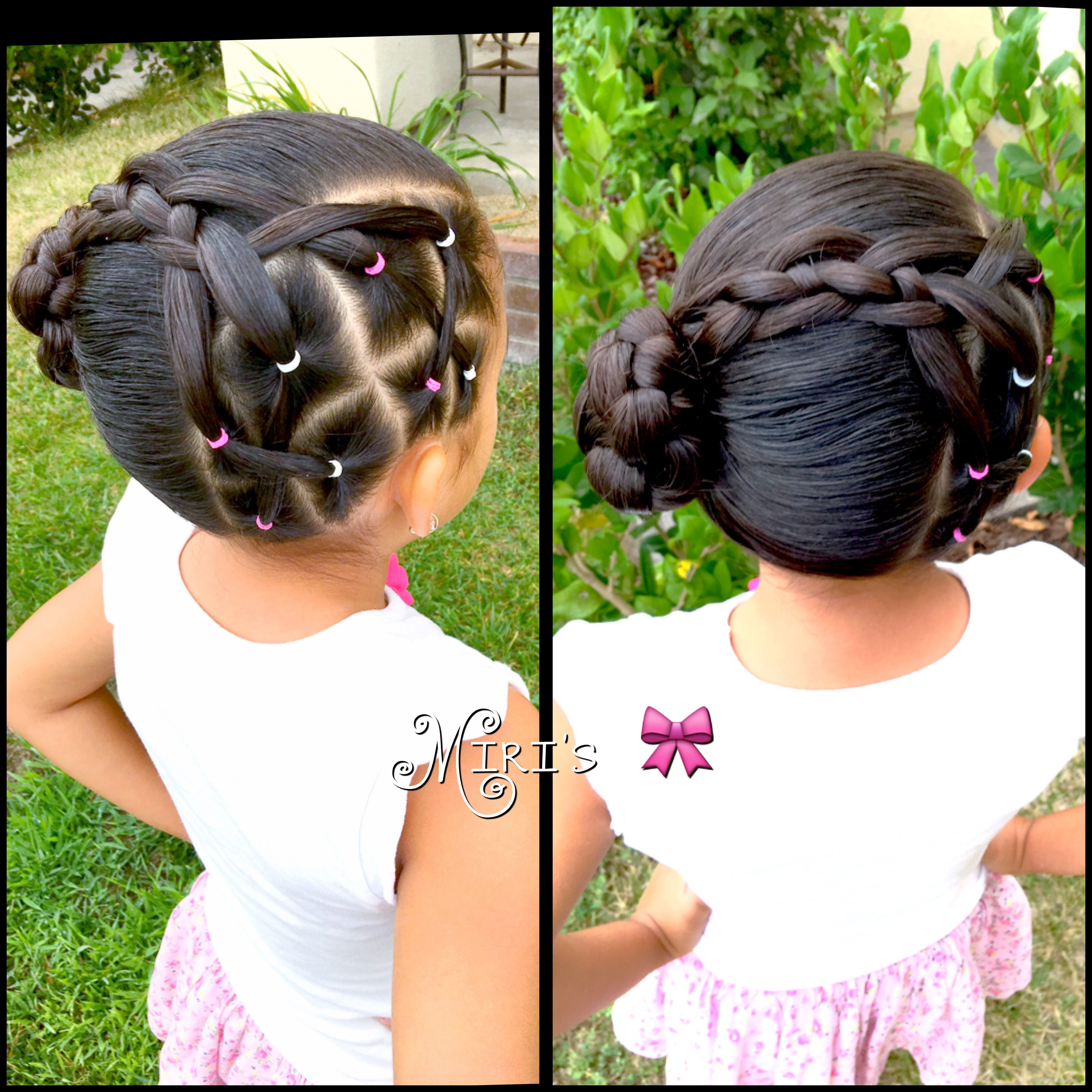 Hair style for little girls my creation miris things