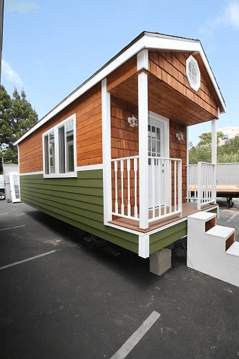 9 X 22 Nw Bungalow Dual Loft Used Tiny House For Sale With Images Tiny House Tiny Houses For Sale Tiny House Inspiration