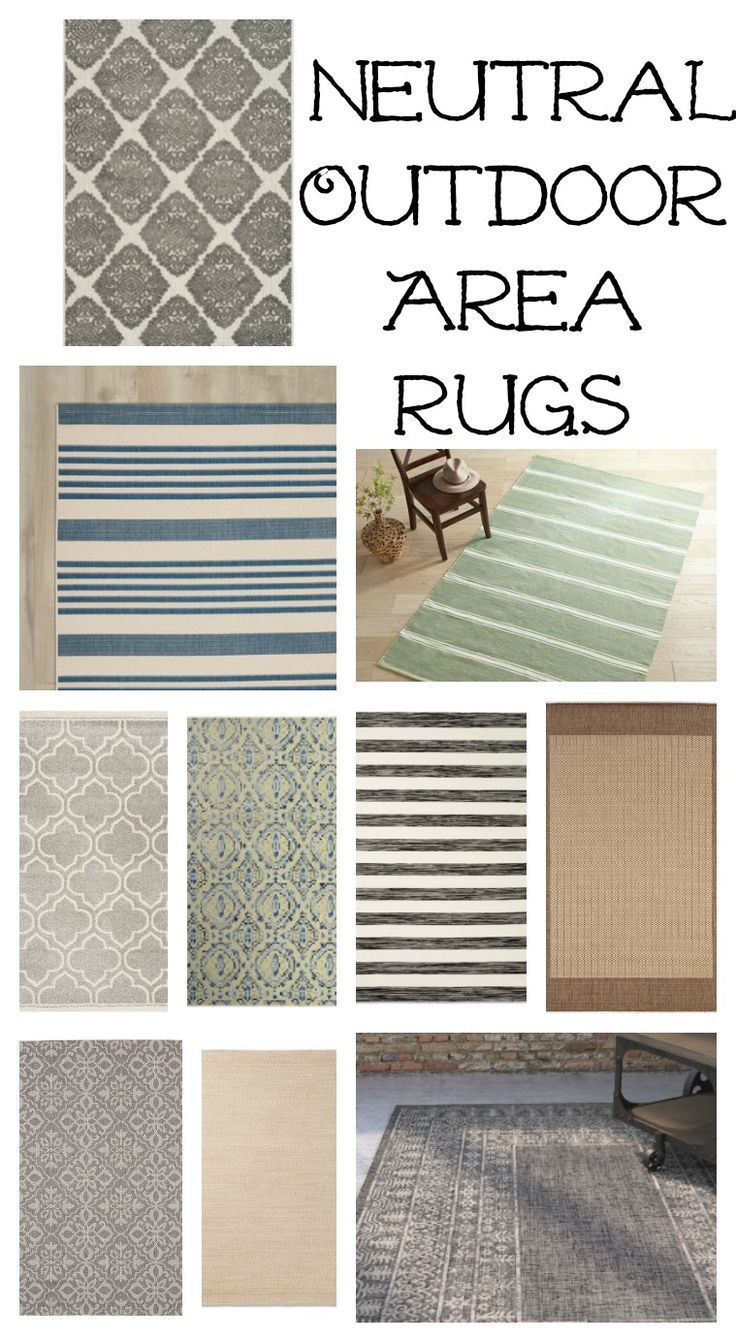 Farmhouse Style Outdoor Decorating Ideas & Shopping Guide #outdoorrugs