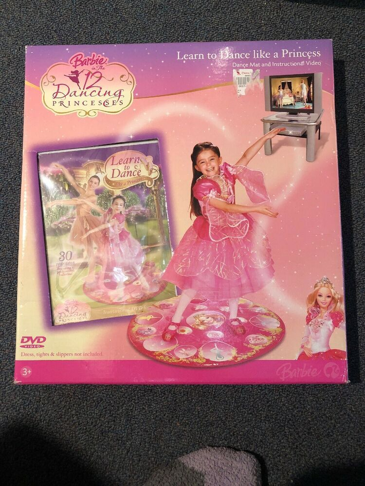 Barbie In The 12 Dancing Princesses Learn To Dance Like A Princess Dance Mat Cdimattel In 2020