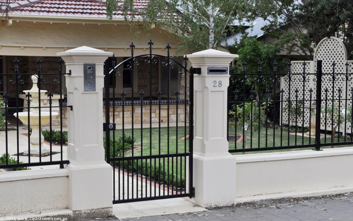 251 pillar for House garden gate design