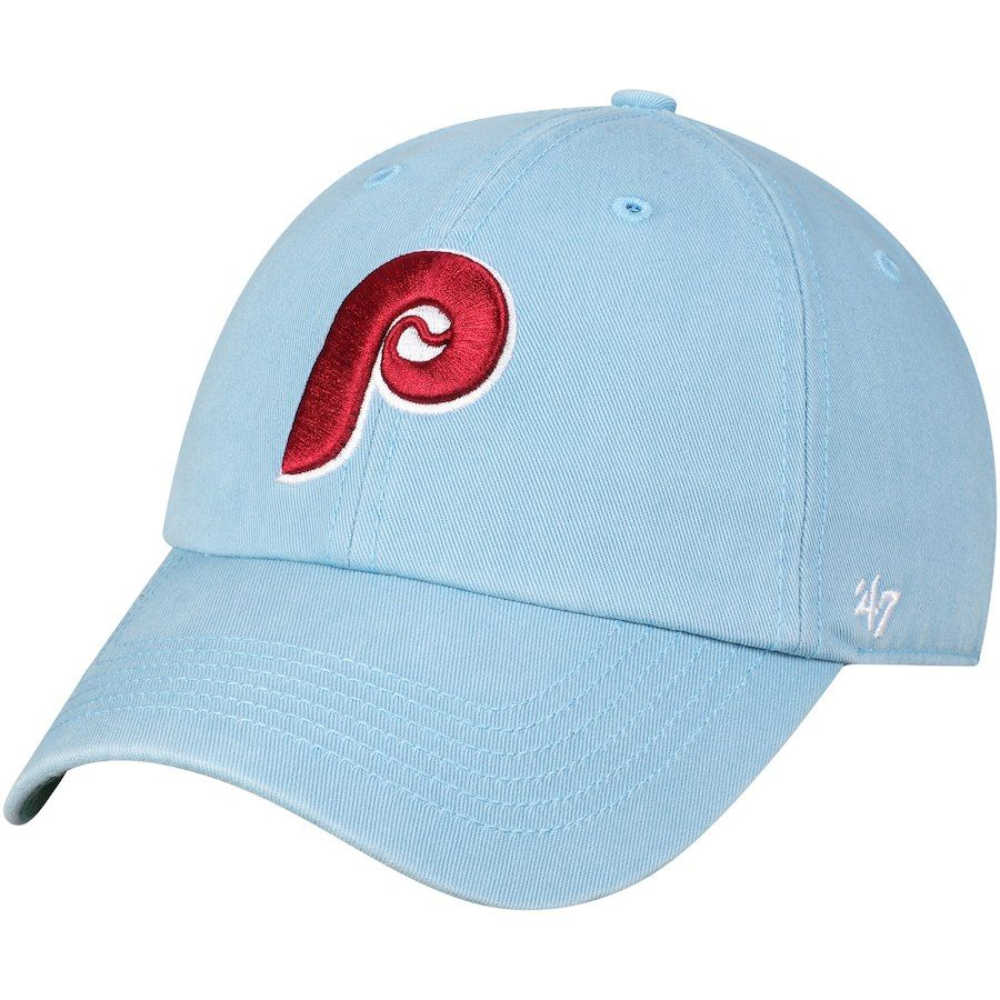 best service 3276c 62c4b Men s Philadelphia Phillies  47 Light Blue 1987 Franchise Cooperstown  Fitted Hat, Your Price   29.99