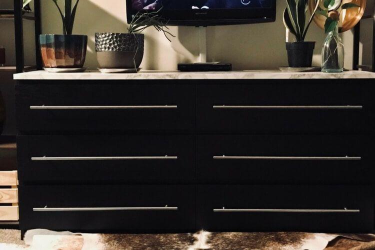 Simple Malm Dresser Upgrade Http://www.ikeahackers.net/2017/. Ikea  Furniture HacksFurniture ...