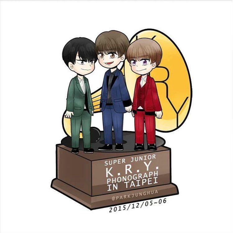 """Taiwan KRY Concert !!! #Taiwan #KRY #Yesung #concert #대만 #정말오랜만 #고마워 #피규어"""
