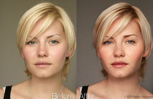 Photoshop Examples Before and After If you are considering a cosmetic dentist click on the image to learn more.