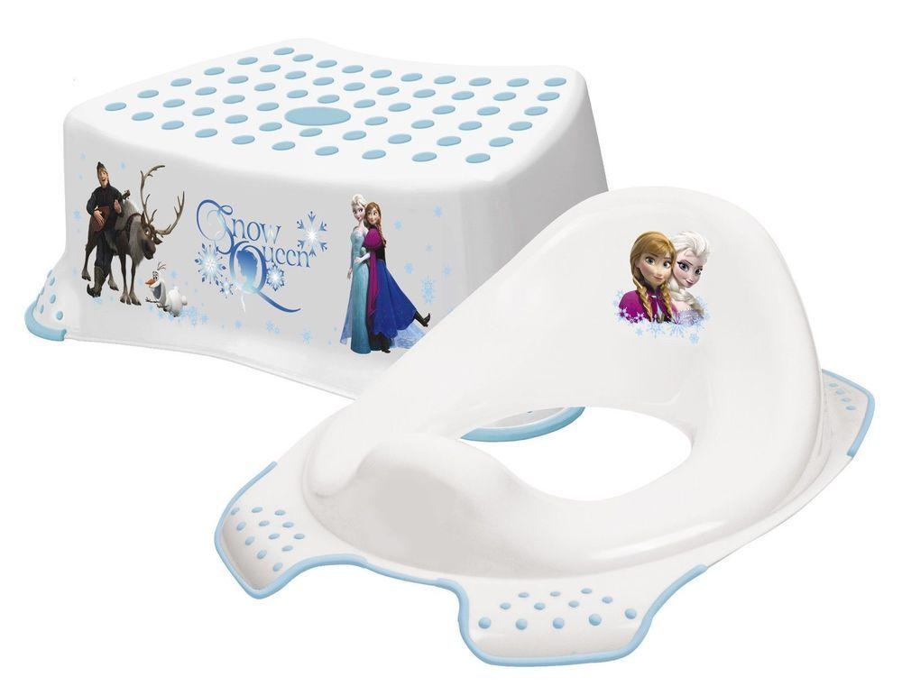 Stupendous Disney Frozen Toilet Potty Traing Seat And Step Up Stool Machost Co Dining Chair Design Ideas Machostcouk
