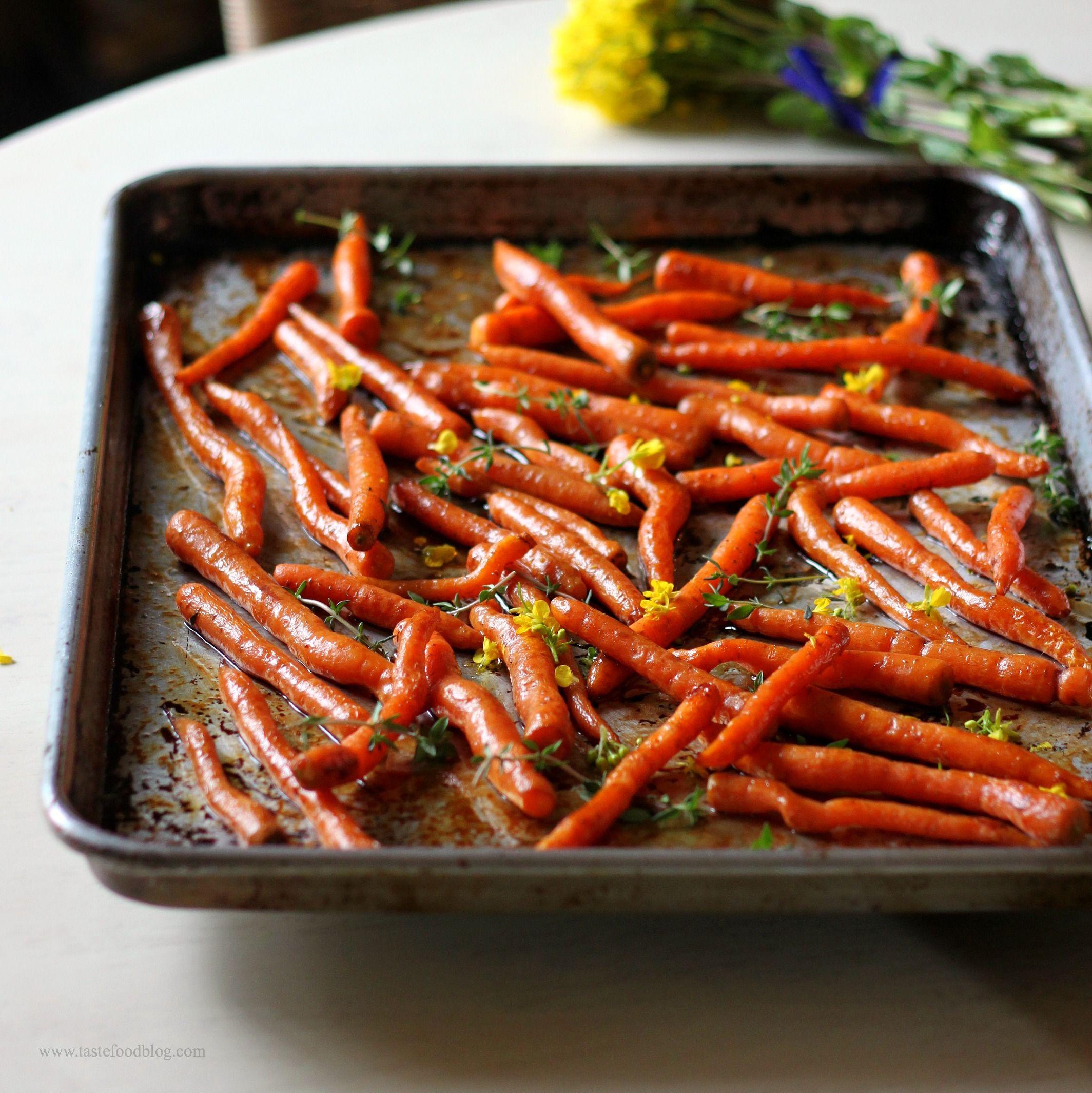 Balsamic Roasted Carrots So Pretty Balsamic Carrots Roasted