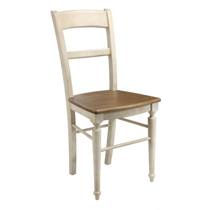 Chaise bicolore - Meuble - Salle à Manger Déco Pinterest