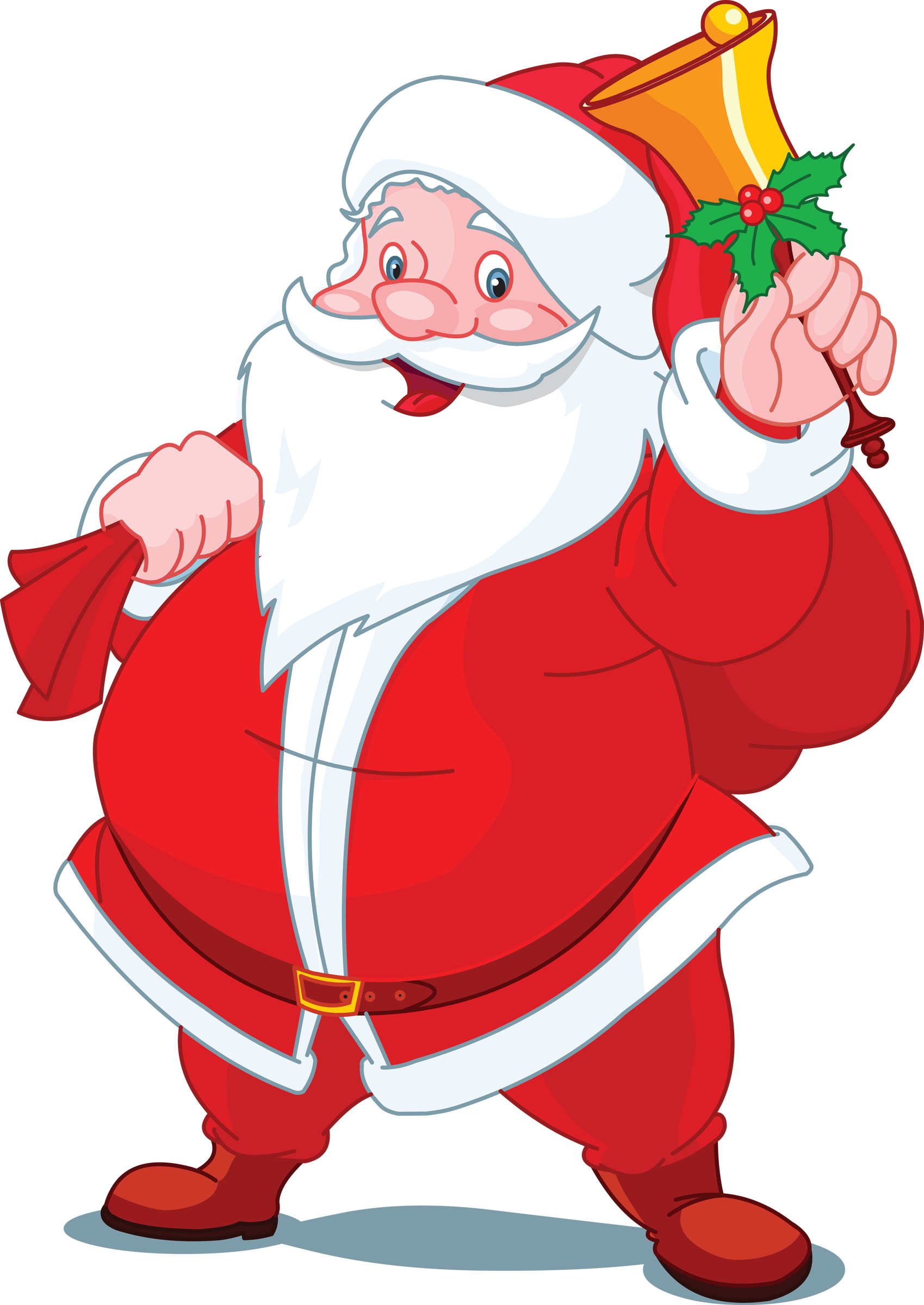 Cartoon santa claus google search thoughts of
