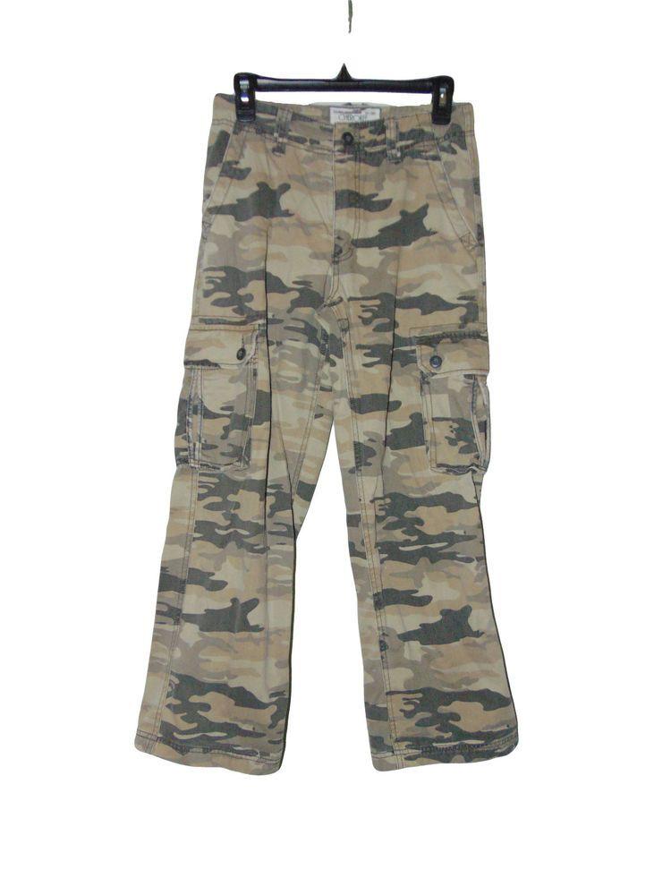 e95a4a7eb Pre Owned Cherokee Desert Camo Cargo Pants Size 14 Youth #Cherokee  #CargoCombat #Everyday