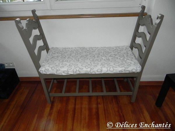 banc avec 2 chaises … | pinteres…