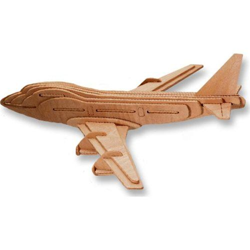 3D Puzzle Boeing 747 Plane $4 https://www.facebook.com/kutlesspuzzles/timeline