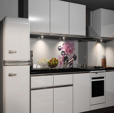 Küche rückwand  Selbstklebende Küchenrückwand Möbel & Wohnen Kuechenrueckwand ...