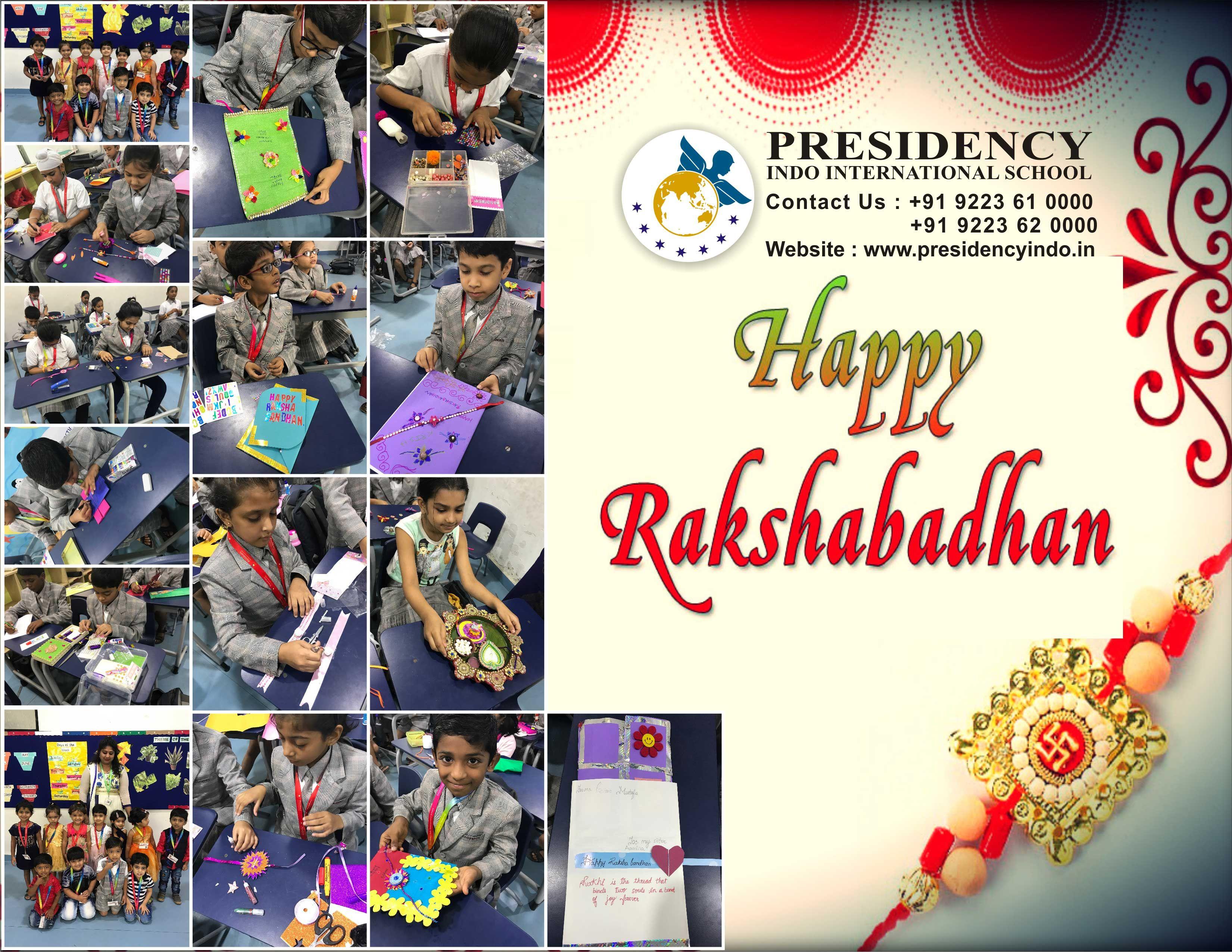 Rakshabandhan Celebration Presidency Indo International