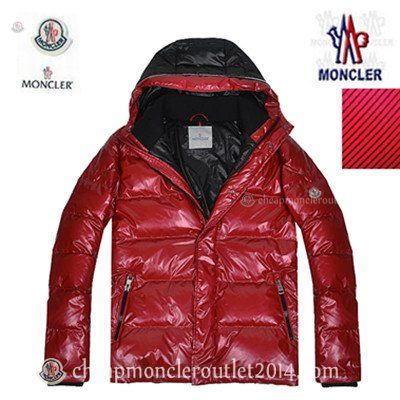 Red Moncler Maya Down Jacket for Men @ cheapmoncleroutlet2014.com
