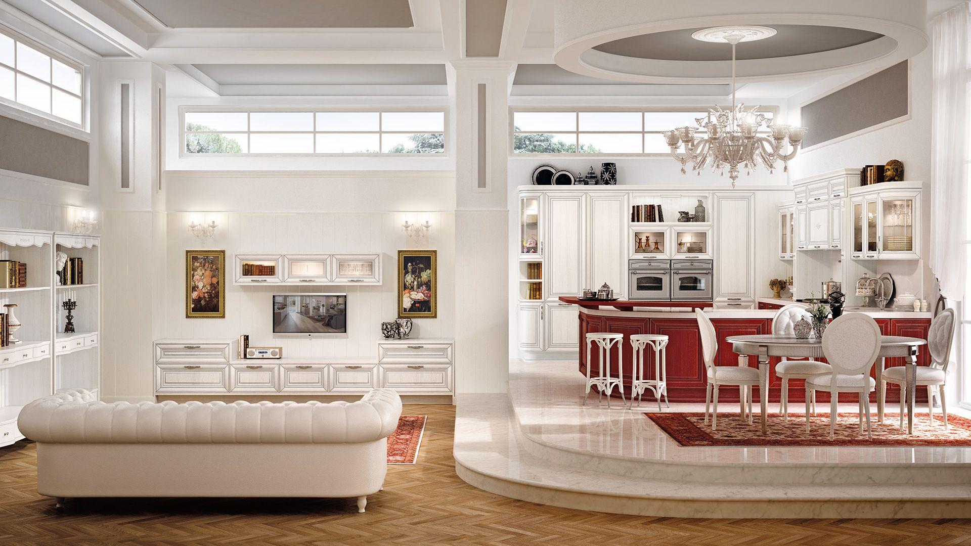 Pantheon - Cucine Classiche - Cucine Lube | Interior design nel 2019 ...