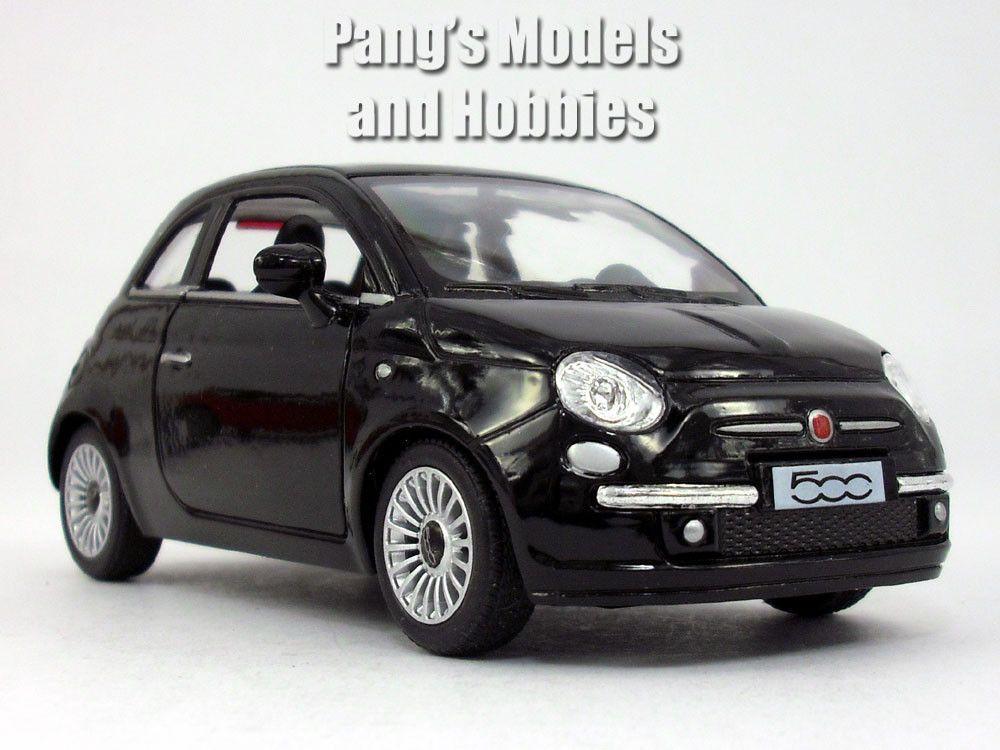 2007 New Fiat 500 1 28 Scale Diecast Metal Model By Kinsmart