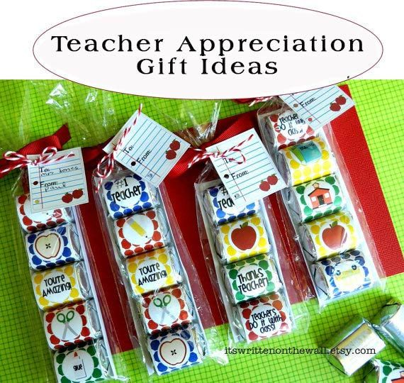 Nugget Gift Ideas Apparel: 12 School Themed Hershey Nugget Wraps For Teacher