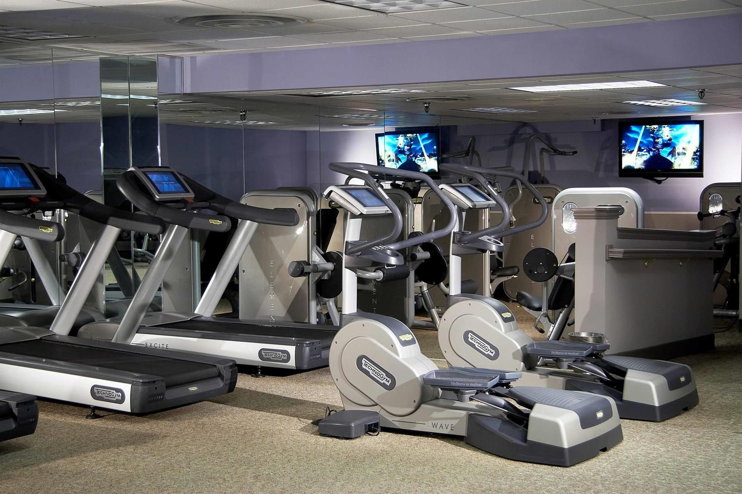 The Fairmontdallas Fitness Center Is Located On The O Level In The South Tower And Features High Performance Technogym Fairmont Luxury Hotel Fairmont Hotel