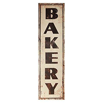 "Metal Decorative Signs Delectable Decorative Metal Sign ""bakery""  Mom Stuff  Pinterest Decorating Design"