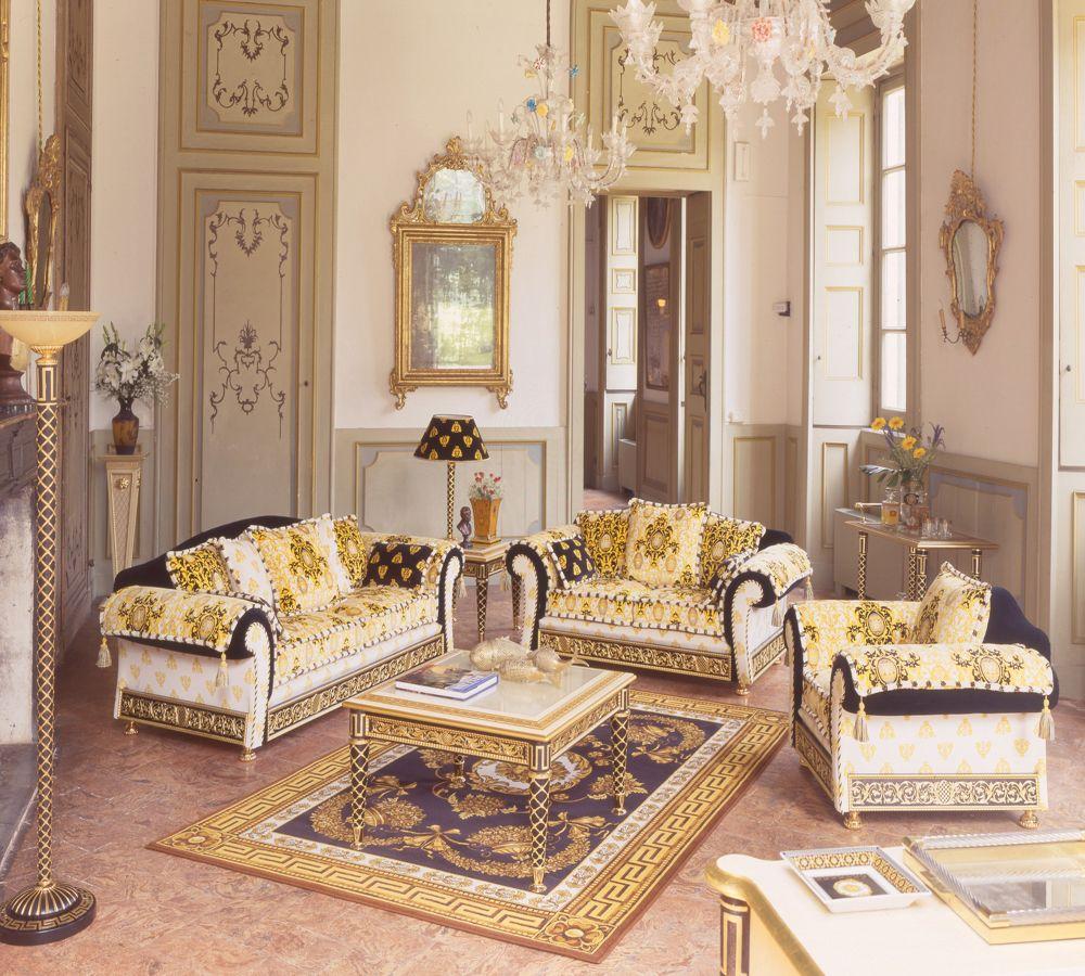 Adorable Versace Living Room Set Luxury Versace Living Room Set