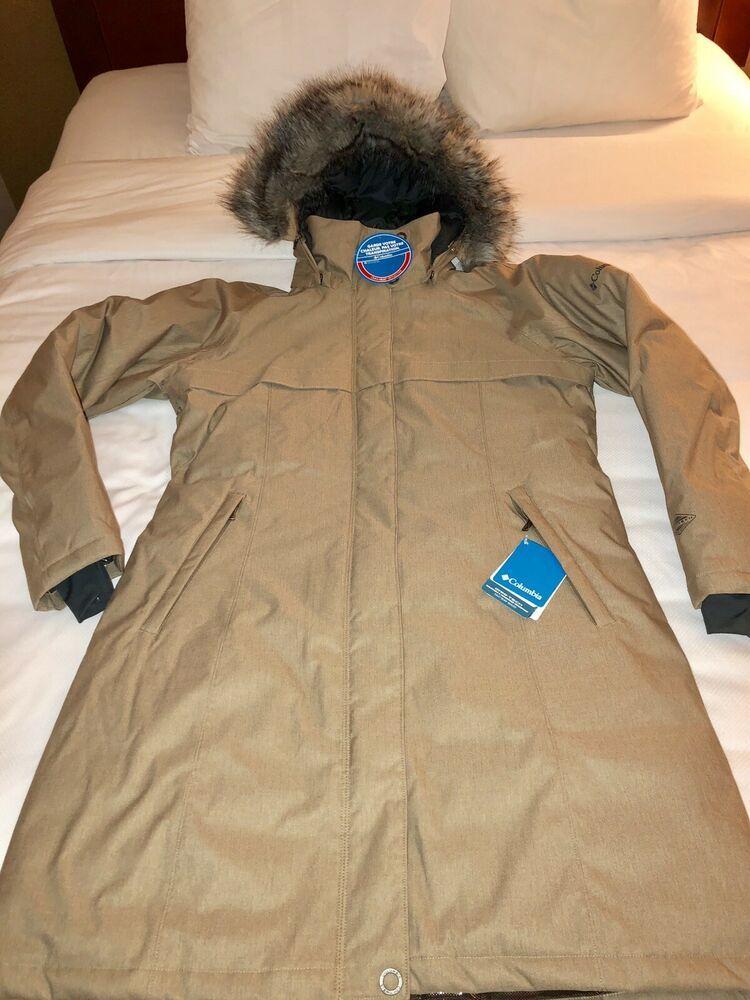 d73b1e75b New COLUMBIA Womens Flurry Run Down Small Omni Heat Jacket Coat ...