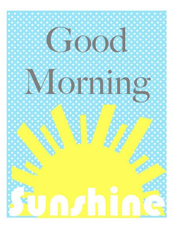 Good Morning Sunshine Party - Pretty My Party
