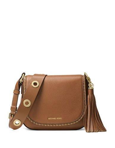 Michael Michael Kors Brooklyn Medium Saddle Bag Women s Luggage ... 814360318c