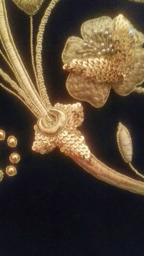 Artesania del bordado en oro
