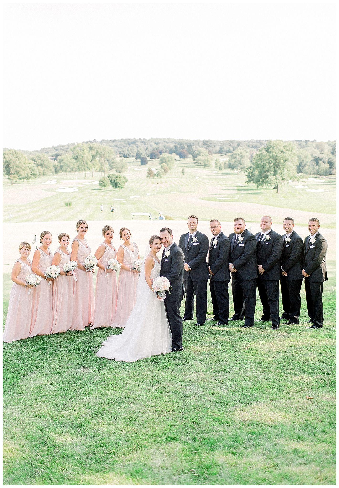 Whitemarsh valley country club wedding caroline morris photography