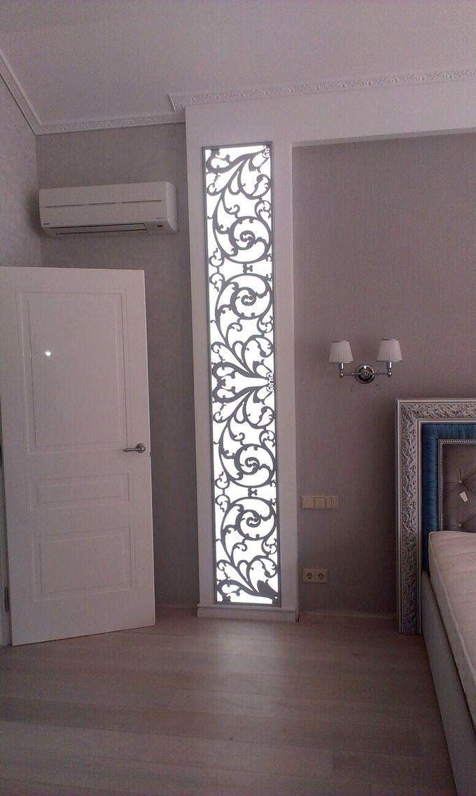Laser Cut Light Panel Fenstergestaltung, Lichtdesign, Moderne Beleuchtung,  Schlafzimmer, Wohnzimmer, Rigips