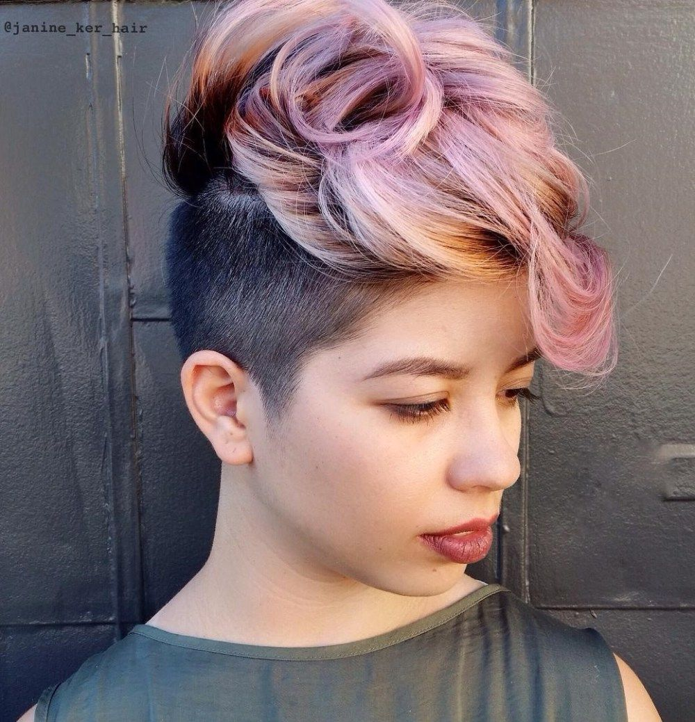 most gorgeous mohawk hairstyles of nowadays everything has