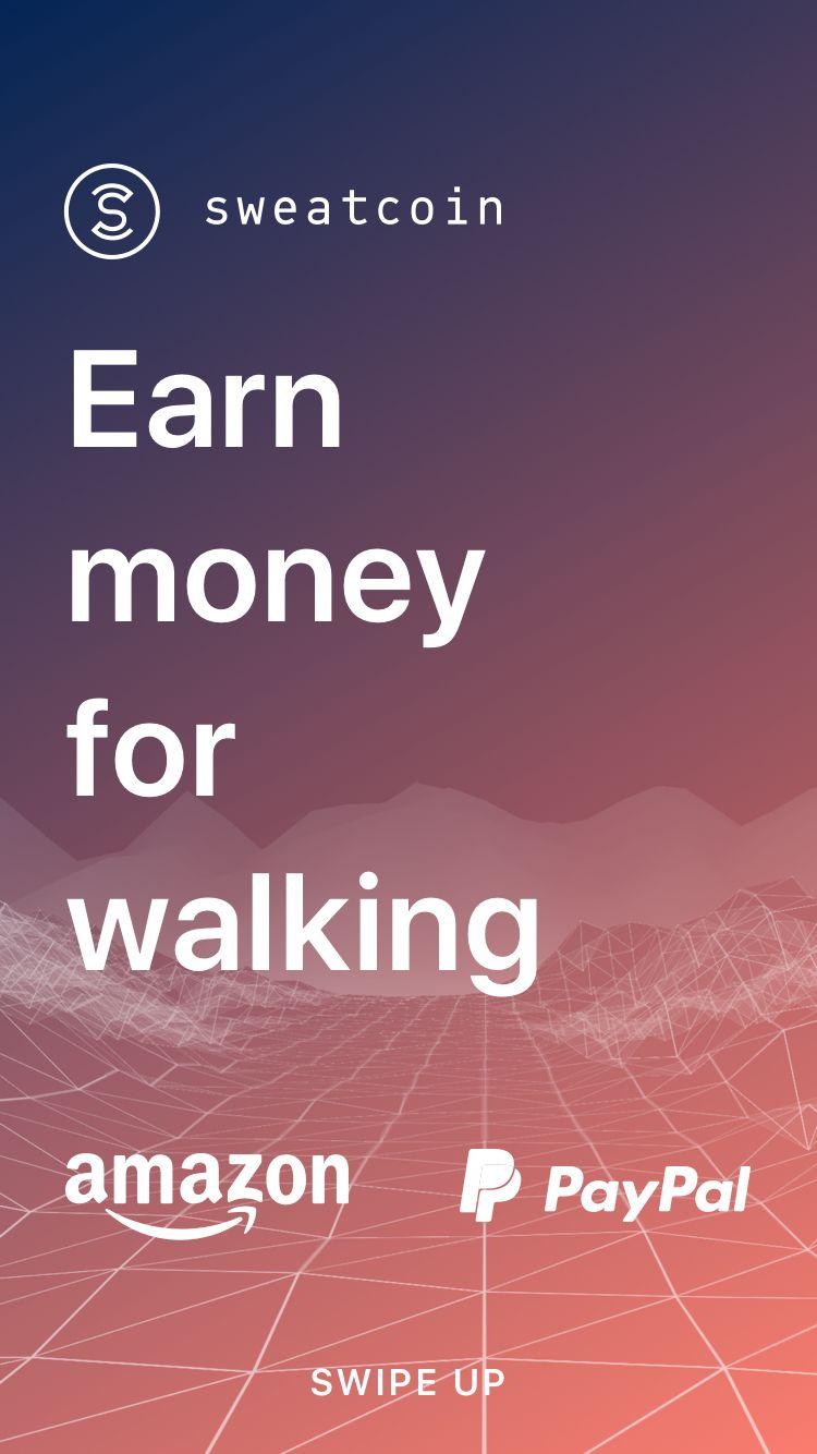 Earn money for walking Earn money, Best money saving