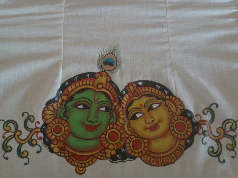 Radha krishna | Mural | Kerala mural painting, Mural ...  Radha krishna |...