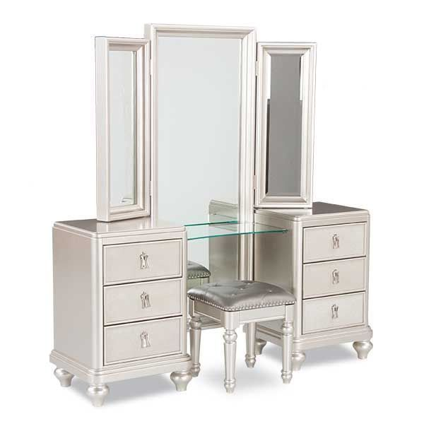 American Furniture Warehouse Online Shopping: Diva Vanity Dresser Mirror Set By SAMUEL LAWRENCE Is Now
