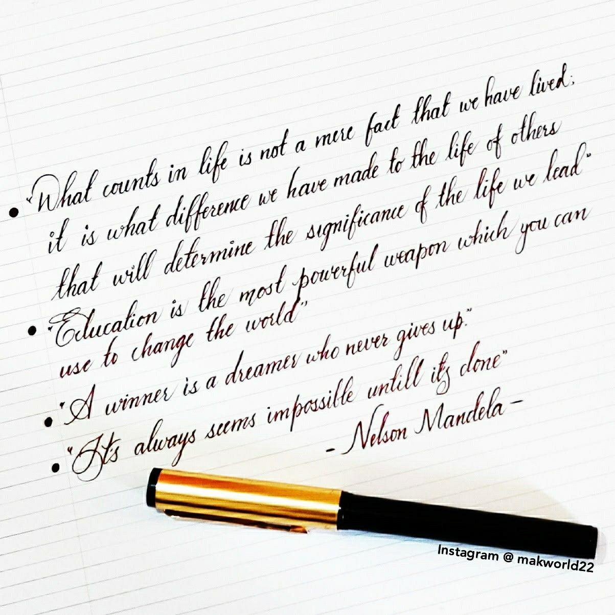 Pin On Calligraphy Cursive Handwriting