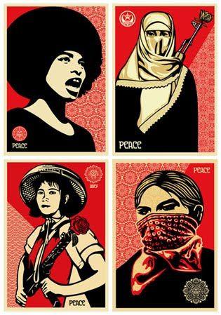 ed.18x24 signed ltd Print Womens March Feminist Political Memorabilia Poster