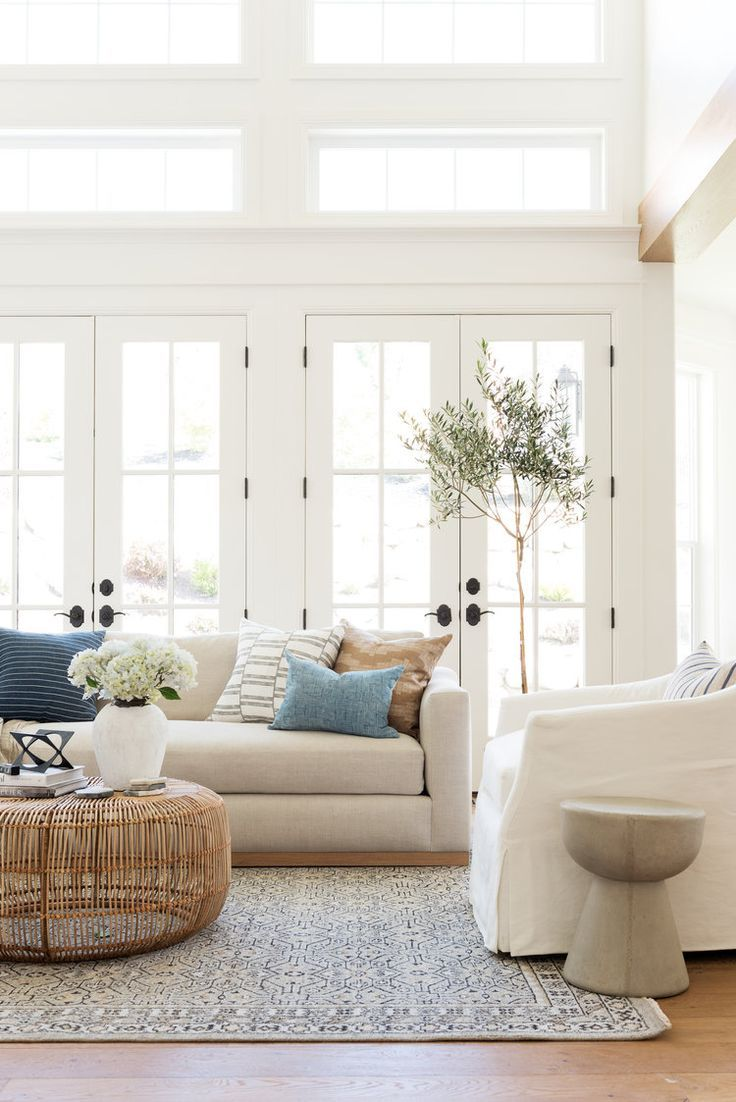 Photo of Elements of a Casual, Cool Sitting Room – Studio McGee