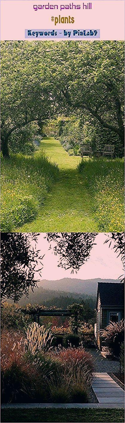Photo of Garden paths hill #plants #blog #seo #trending. garden paths and walkways, garde…