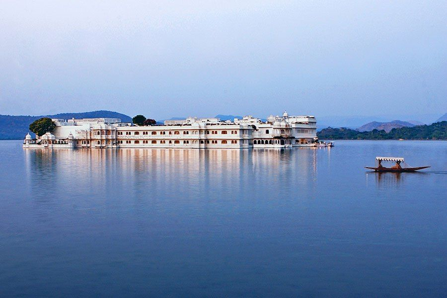 Taj Lake Palace - The fact that Taj Lake Palace is accessible only by boat is a good indication that it's a special place. Seemingly floating in the middle of Udaipur's Lake Pichola, the hotel was commissioned by Maharana Jagat Singh II as a pleasure palace in the 1700s. The structure was converted into a hotel in 1963, before becoming part of the Taj group in 1971.
